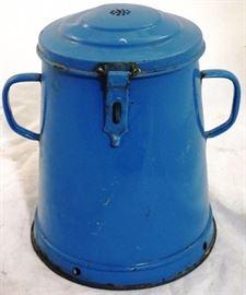 #4011 enamel coffee pot