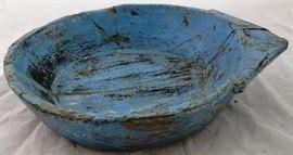 #4065 painted dough bowl