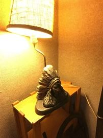 Native American Lamp