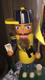 Sports fan nutcracker