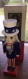 Uncle Sam nutcracker