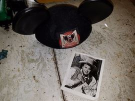 Mickey ears and Hoss