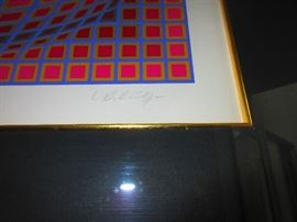 Detail of Vasarely