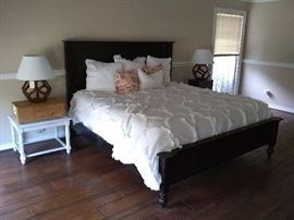 King Size Bedframe & nightstands