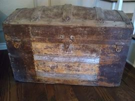 Vintage / antique wooden chest