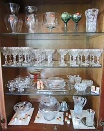 Crystal and decorative glassware