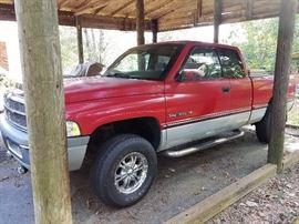 1997 Dodge Pickup Truck - 114,000 Miles