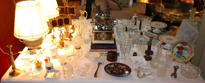 Antique crystal, Rosenthal, Cloisonné