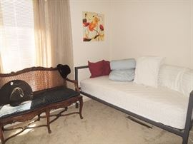 Day Bed, old wood bench