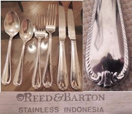 Stainless flatware Reed & Barton