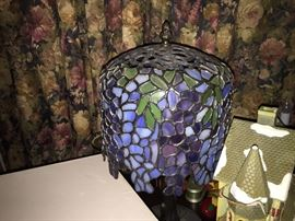 Stained Glass lamps, Wisteria