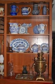 Antique English Pitcher Collection and more Decorative Serving Pieces