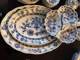 Meissen Blue & White China