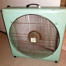 COOL Retro Floor Fan--It works!