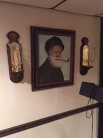 Hanging candle sconces, picture by Heiko