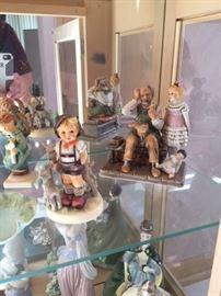 Norman Rockwell Figurines , Hummel, LLadro