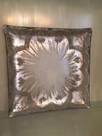 Dorothy Thorpe glass tray $20