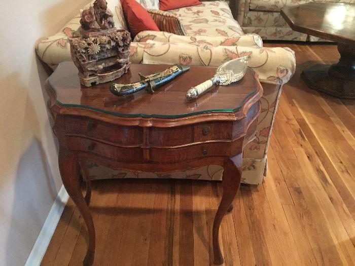 Nice vintage end table