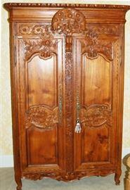 double door armoir
