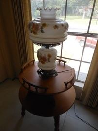 Maple lamp table/ we have other matching pieces