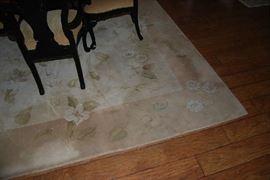 100% wool area rug