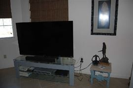 Tv stand only.  All other items sold.