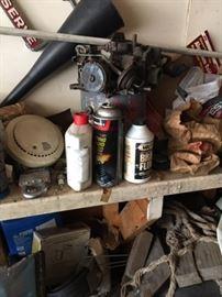 Garage Items: Motor, Tools