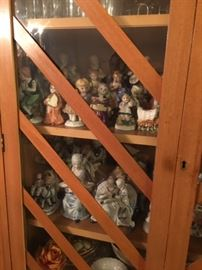 Some of the many Ceramic Figurines
