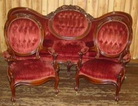 Sofa w/ Matching Chairs