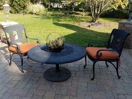More matching patio furniture!