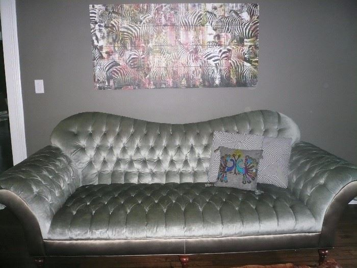 Photo by Parvez done on reclaimed wood. Arhouse sofa