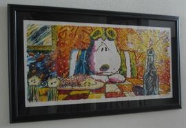 """Last Supper"" fine art lithograph by Tom Everhart - signed, limited edition"
