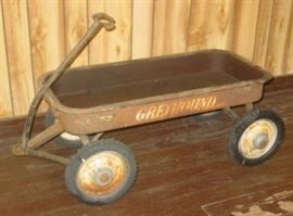 Greyhound Child's Metal Wagon