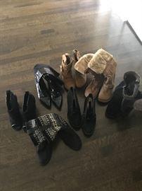 Women's Shoes & Boots - Size 6.5 & 7  $8