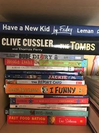 Books - .50 up to $2