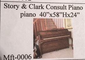Story & Clark Consult Piano