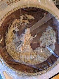 Romantic Poet Series Cameo Collectors' plate