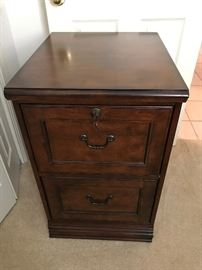 Nice Solid Wood File Cabinet