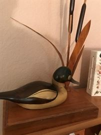 Signed Duck Decoy