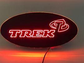 Lighted Trek Sign