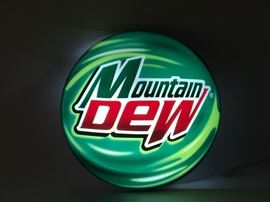 Lighted Mountain Dew