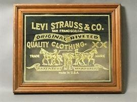Levi Strauss Mirror