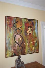 Valerie Beller Oil on Canvas