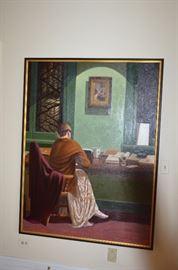 Robert Kingsley Oil on Canvas