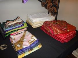 Silk Scarves, Table linens
