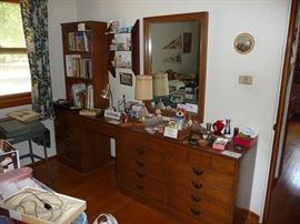 Maple Dresser and Desk