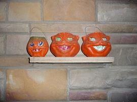 Vintage Halloween Pumpins