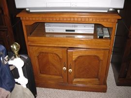 Small entertainment cabinet.
