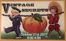 Vintage Secrets sign