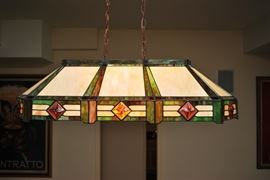 Tiffany Pool Table Light
